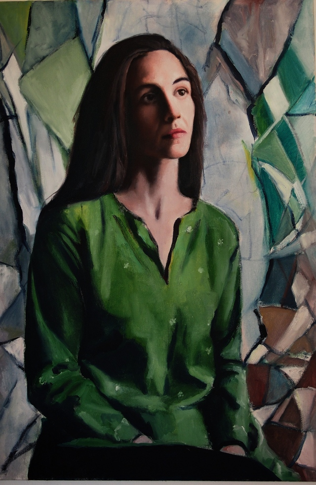 Eduardo's portrait of his wife Elizabeth