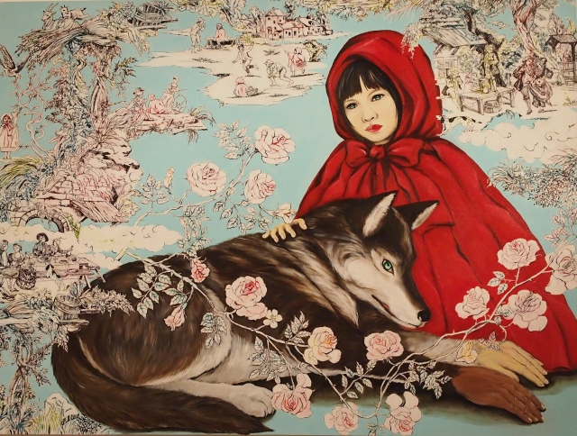 Little Red Riding Hood Tames the Wolf