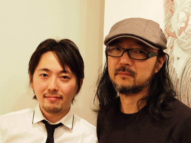 Takashi Ikezawa and Fumio Tashiro, co-owners of ResoBox