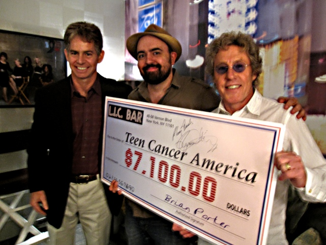 Rob Basch, Gus Rodriguez and Roger Daltrey