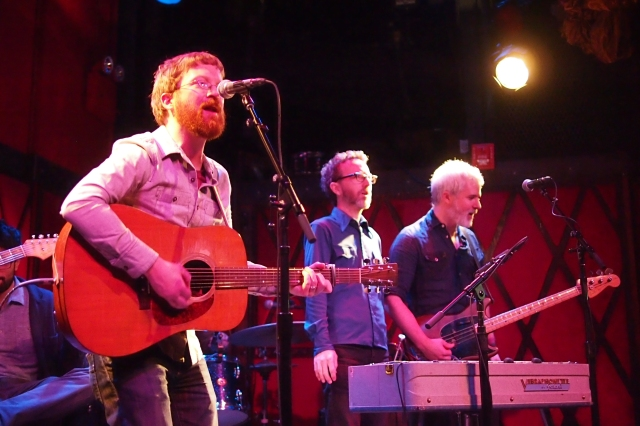 Niall Connolly with Dennis Cronin and Brandon Wilde at Rockwood